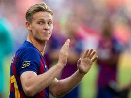 De Jong's position has been questioned because of his irregular performances. EFE