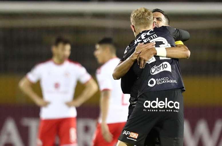 Independiente del Valle vuelve a hacer historia. EFE/José Jácome