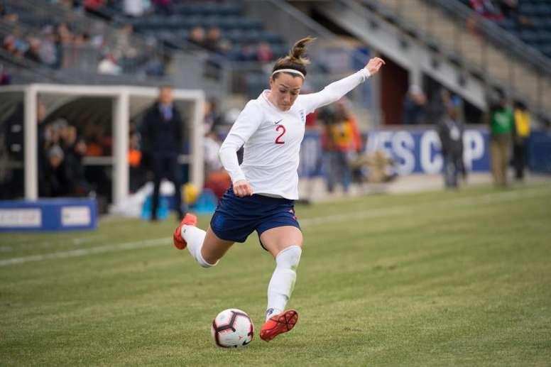 Lucy Bronze es una de las tres candidatas al 'MVP' de la UEFA. EFE/Archivo