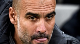 Guardiola has still not won the Champions League outside of Barcelona. EFE