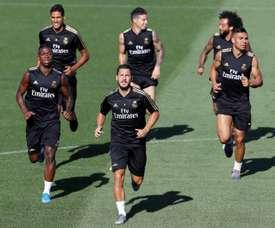 Mezza dozzina di infortunati nel Real Madrid. EFE