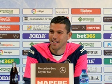 David Soria advirtió al Atleti en sala de prensa. EFE
