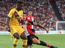 Nelson Semedo's performance was not up to scratch. EFE