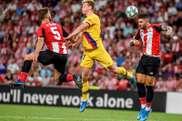 Le Barça n'a remporté que trois championnat sur 16 en commençant par une défaite. EFE