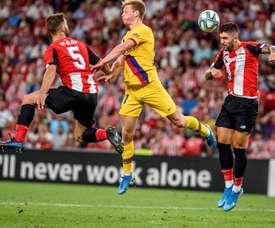 Yeray et Unai Núñez disputeront le match face à Barcelone. EFE