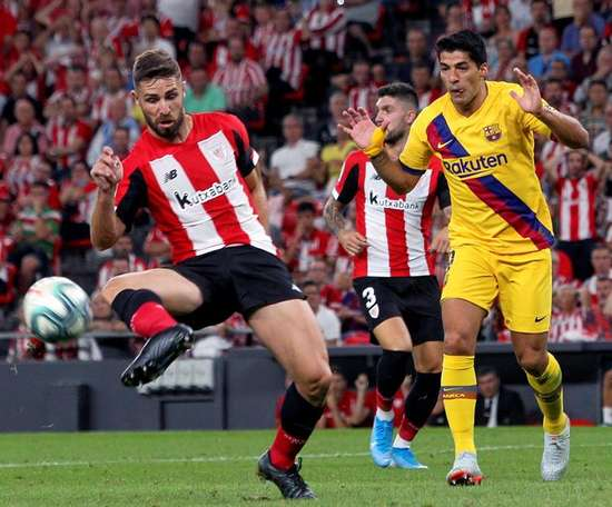 Barcelona have not scored against Athletic Bilbao in their last two matches. EFE