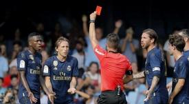 Las cantidad de sanciones a Barça y Madrid, ¿cosa del VAR? EFE