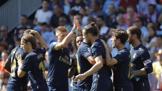 Le Real Madrid a gagné son premier match de Liga. EFE