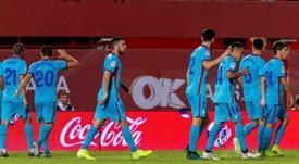El Mallorca regresó a Primera con victoria ante el Eibar. EFE