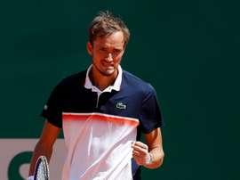 En la imagen, el tenista ruso Daniil Medvedev. EFE/Sebastien Nogier/Archivo