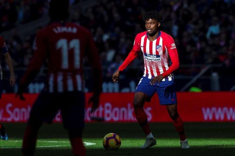 El Atlético se toma con calma el 'caso Thomas'. EFE