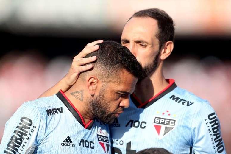 El guiño de Alves a Boca: 'No estaría mal retirarse allí'. EFE