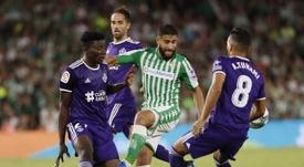 El Real Valladolid ha reemplazado a Calero en la zaga del Pucela. EFE
