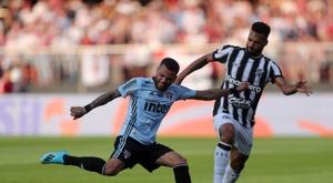Bueno confirma el pleno de Dani Alves. EFE/Fernando Bizerra Jr.
