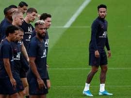 Tuchel veut que Neymar joue dimanche ! EFE/ Ian Langsdon
