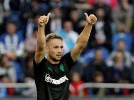 Ontiveros dejará el Málaga y se irá al Villarreal. EFE