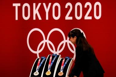La organización de los Juegos Olímpicos y Paralímpicos de Tokio 2020 reveló este lunes las 30 instalaciones donde se podrá ver la retransmisión en directo de las competiciones y que estarán ubicadas en más de una veintena de ciudades del país.EFE/EPA/KIMIMASA MAYAMA/Archivo