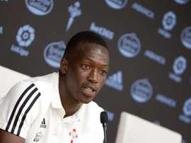 Cheikh volvió a Vigo tras su paso por Lyon. EFE