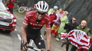 En la imagen, el exciclista español Alberto Contador. EFE/Javier Lizón/Archivo