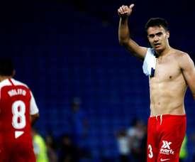 Reguilon will face his parent club on Sunday at the Sanchez Pizjuan. EFE