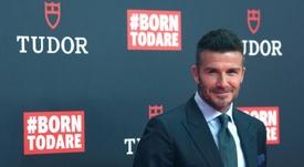 Beckham tuvo que elegir entre el desfile de Victoria y el amistoso de Inter Miami. EFE
