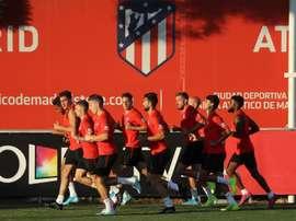 Diego Simeone assure 90 buts par saison à l'Atlético. EFE/ Kiko Huesca