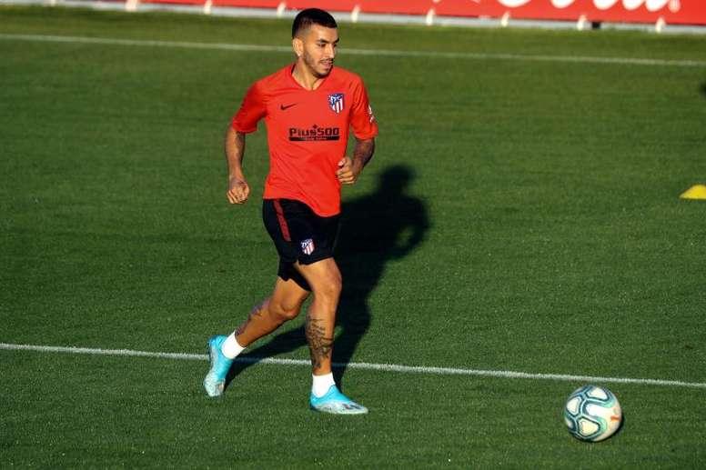 El Atleti depende de André Silva para vender a Correa. EFE