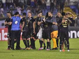 Guastatoya se estrena en CONCACAF. EFE/José Vall/Archivo