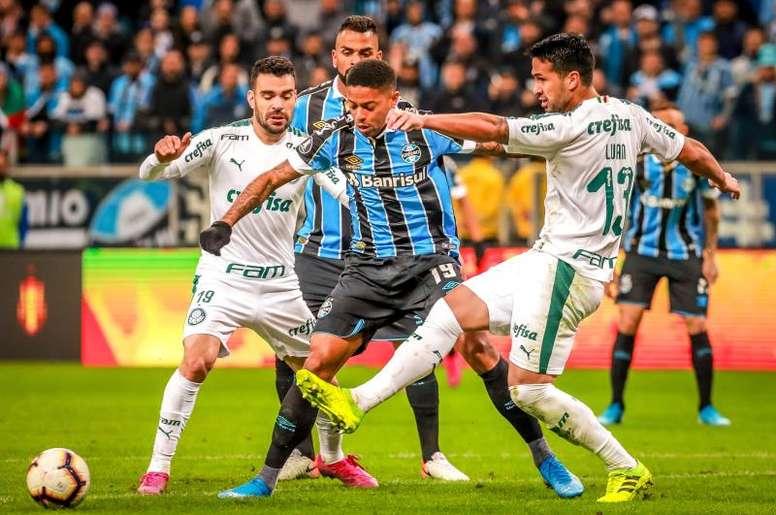 Palmeiras recibe a Gremio. EFE/Archivo