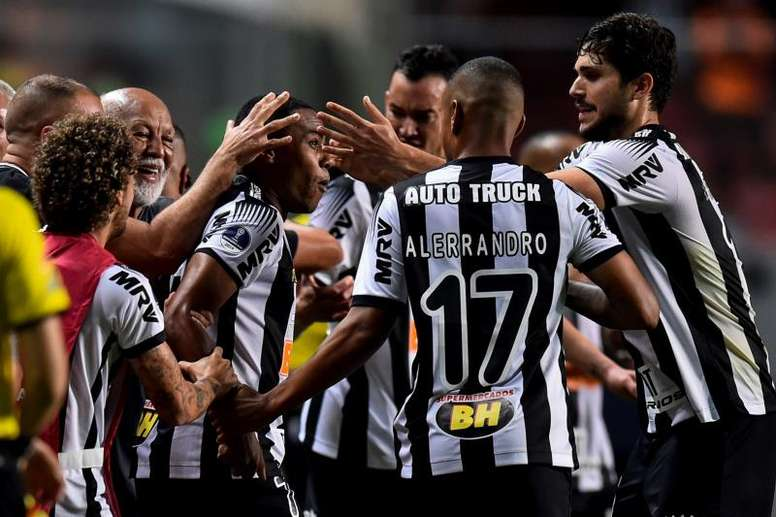 Atlético Mineiro estaria em uma situação financeira complicada. EFE/Yuri Edmundo