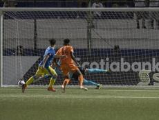 Motagua da el golpe fuera. EFE/Jorge Torres