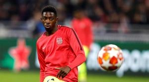 Le groupe du FC Barcelone pour jouer contre Villarreal. EFE