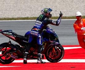 El piloto español de MotoGP, Maveric Viñales. EFE/ Enric Fontcuberta/Archivo
