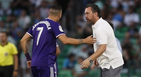 Sergio y Sergi, protagonistas en el Bernabéu. EFE