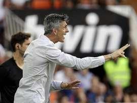 Imanol é o 'carrasco' do Real Madrid. EFE/Manuel Bruque