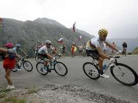 Alejandro Valverde (Movistar Team) durante el último Tour de Francia EFE/EPA/YOAN VALAT
