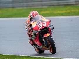 Marc Márquez durante el GP de Austria de MotoGP en el Red Bull Ring de Spielberg EFE/EPA/DOMINIK ANGERER