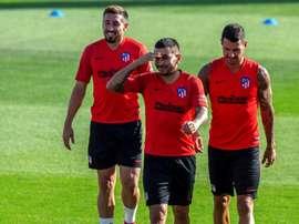 L'Atlético attend le Milan AC pour Correa. EFE