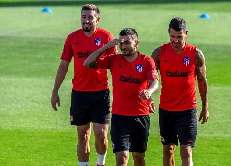Angel Correa will move to AC Milan shortly. EFE