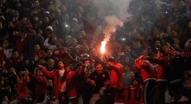 A Libertadores vive uma edição com  arquibancadas vazias. EFE/Juan Ignacio Roncoroni