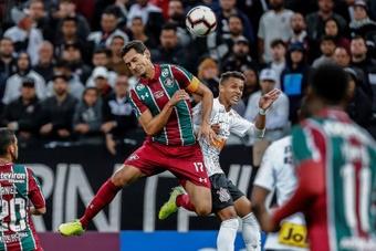 Quando Ganso volta ao Fluminense após lesão? EFE/Sebastião Moreira