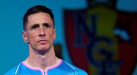 La lettre d'adieu de Torres pour mettre un terme à sa carrière. EFE