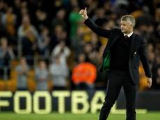 Llegó el pasado enero al United procedente del Arsenal. AFP