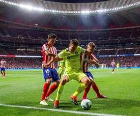 Ligue 1 está de olho em zagueiro do Atlético de Madrid. EFE/Rodrigo Jiménez