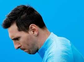 Messi est prêt. EFE