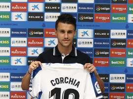 Corchia cumplió un objetivo con el Espanyol. EFE