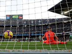 El Betis sorprendió al Barça hace poco menos de un año. EFE