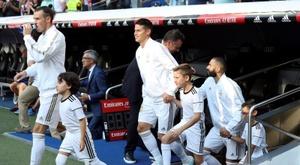 Le Real Madrid annonce la blessure de James Rodriguez. EFE