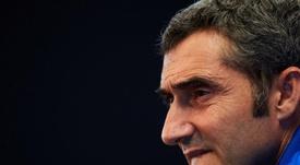 Valverde a parlé du triomphe contre le Betis. EFE