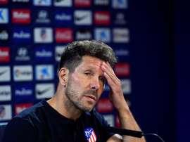Simeone espère pouvoir compter sur le retour de Diego Costa face à Eibar. EFE